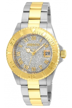 Women's 'Angel' Quartz Gold and Stainless Steel Casual Watch
