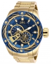 Bolt Automatic Blue Dial Mens Watch