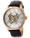 Men's Vintage Analog Display Automatic Self Wind Brown Watch