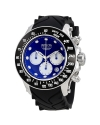 Men's 'Reserve' Swiss Quartz Stainless Steel and Silicone Casual Watch