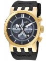 Men's 'DNA' Quartz Stainless Steel and Silicone Casual Watch