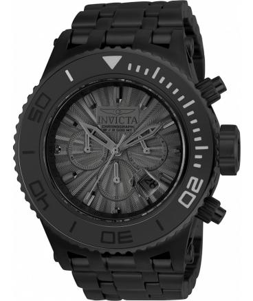 Men's 'Subaqua' Quartz Black Stainless Steel Casual Watch
