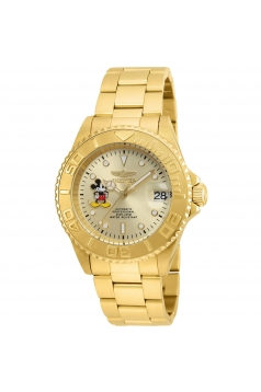 Men's 'Disney Limited Edition' Automatic Stainless Steel Casual Watch