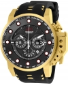 Force Bomber Quartz Chronograph Men's 50mm Silicone Strap Watch