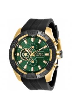 Men's Pro Diver Quartz Chronograph Green Dial Watch