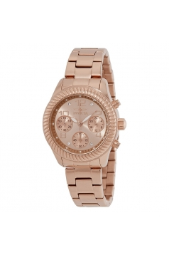 Women's Angel Rose Gold-Tone Stainless Steel Watch
