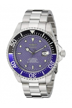 Men's Pro Diver Silver-Tone Stainless Steel Watch