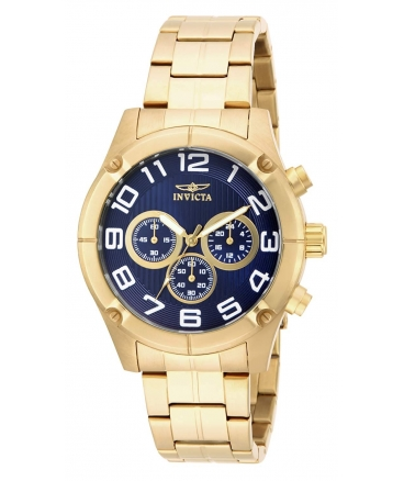 Men's Specialty Quartz Chronograph Blue Dial Watch