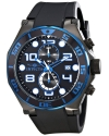 Men's Pro Diver Analog Display Japanese Quartz Black Watch