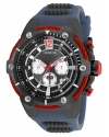 Men's Marvel Quartz Chronograph Gunmetal Dial Watch