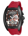 Men's S1 Rally Quartz Multifunction Gunmetal, Red, Black Dial Watch