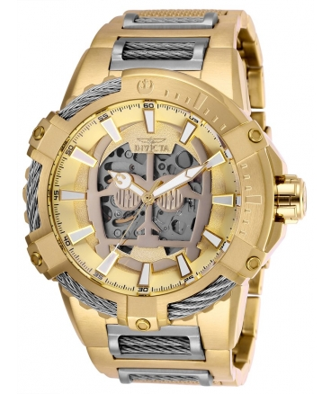 Men's Star Wars Automatic Multifunction Gold Dial Watch