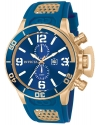 Men's Corduba Blue Dial Blue Polyurethane Watch