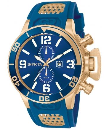 Men's Corduba Blue Dial Blue Polyurethane Watch