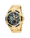 Men's Bolt Quartz Chronograph Rainbow Dial Watch