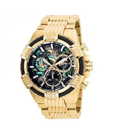 Men's Bolt Quartz Chronograph Rainbow Dial Watch