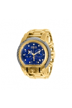 Men's Reserve Quartz Chronograph Blue Dial Watch