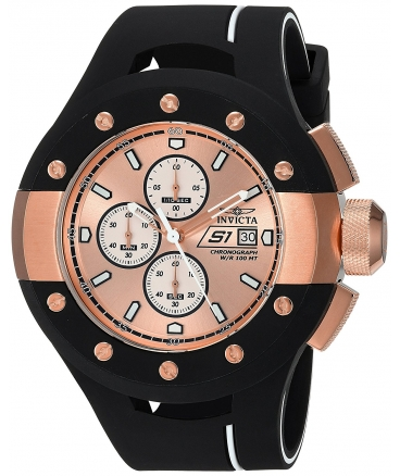 Men's 'S1 Rally' Quartz Stainless Steel and Silicone Casual Watch