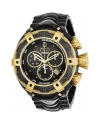 Men's Jason Taylor Quartz Chronograph Black Dial Watch