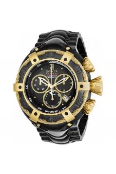 Men's Jason Taylor Quartz Chronograph Black Dial Watch