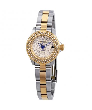 Angel Crystal Gold Dial Ladies Watch