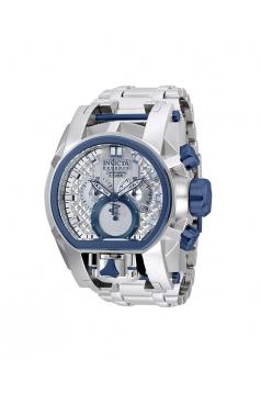 Reserve Men's 52mm Bolt Zeus Magnum Swiss Quartz Dual Movement Bracelet Watch