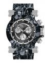 Men's Coalition Forces Quartz Multifunction Black, Silver Dial Watch