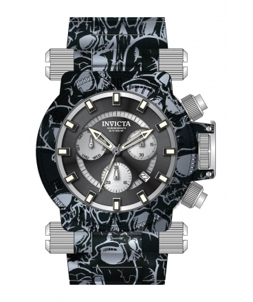 Men's Coalition Forces Quartz Multifunction Black, Silver Dial Watch